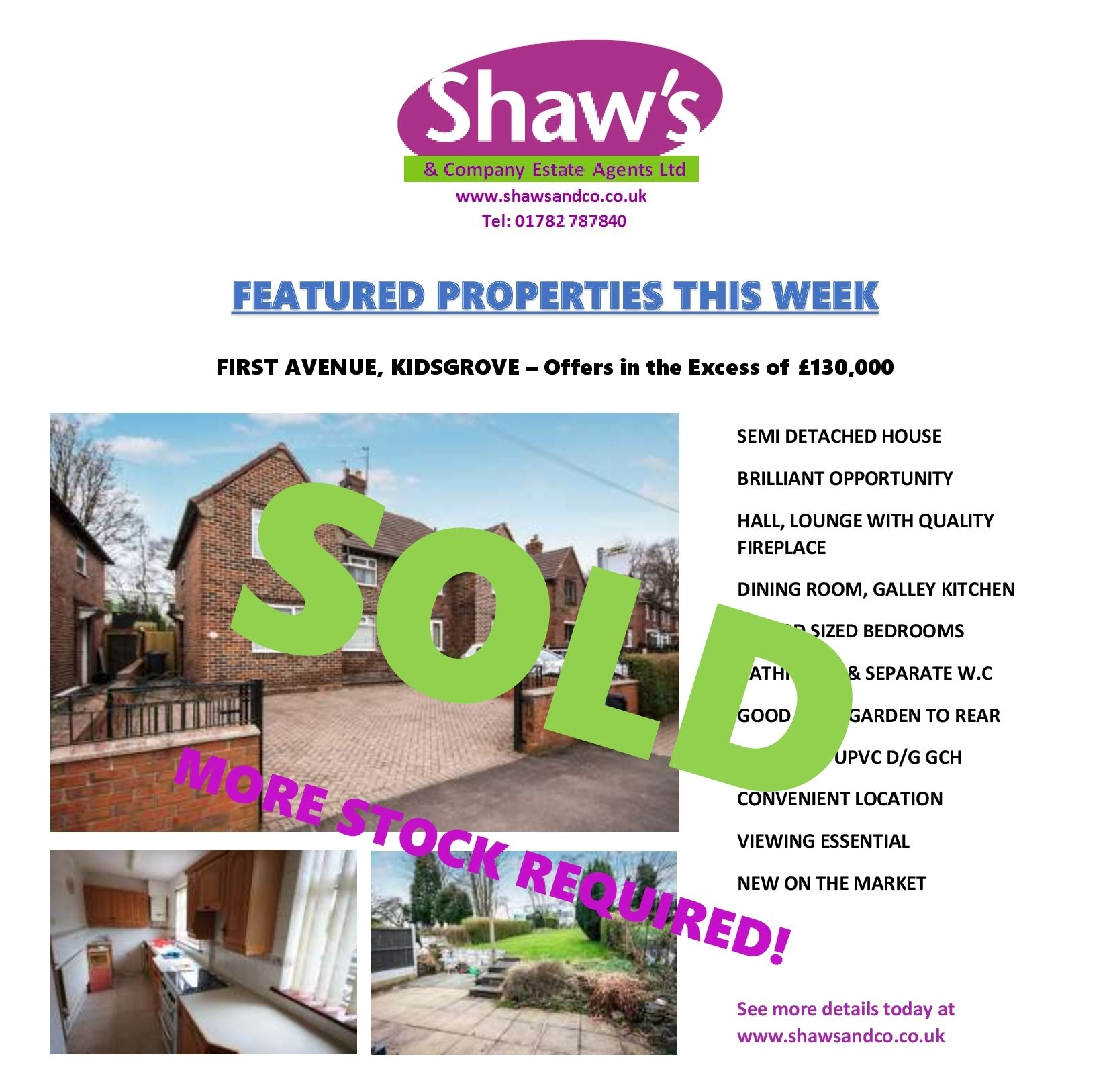 NEW & FEATURED PROPERTIES OF THE WEEK!