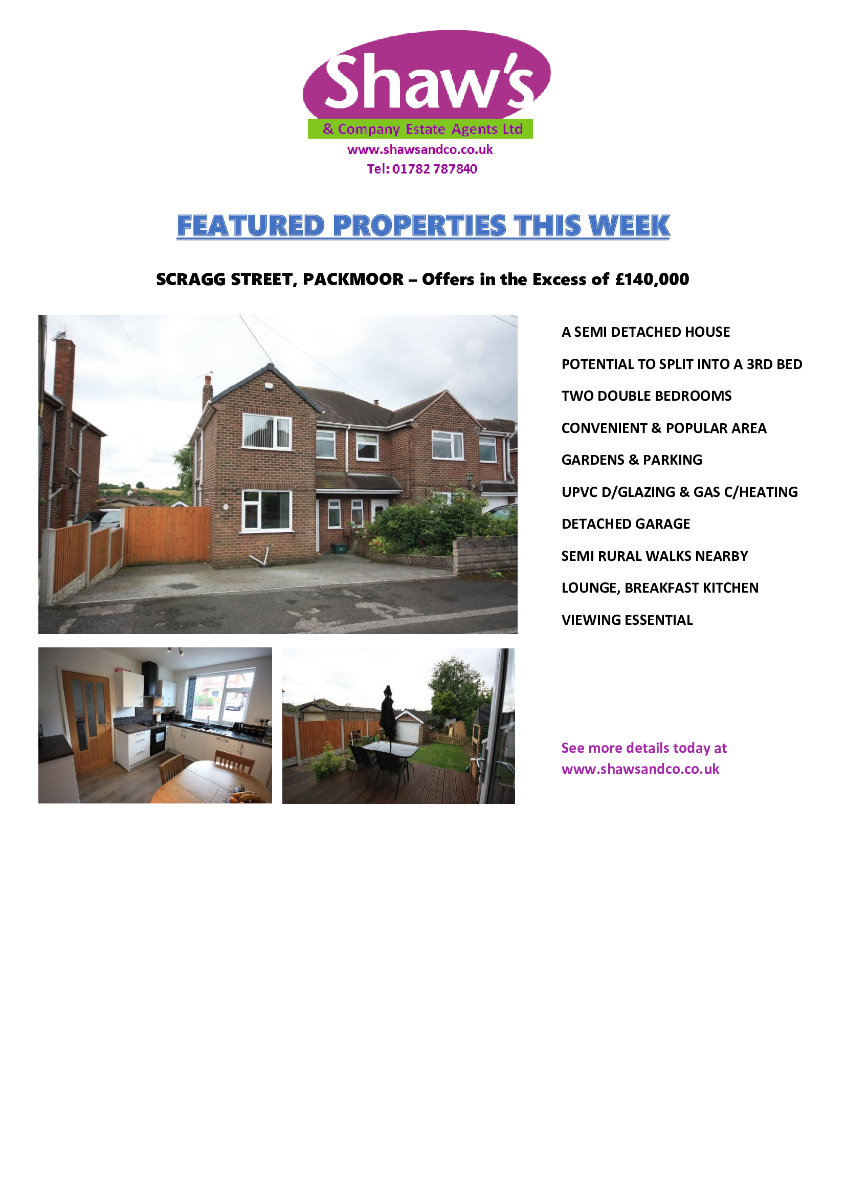 FEATURED PROPERTIES OF THE WEEK - DOUBLE EDITION!