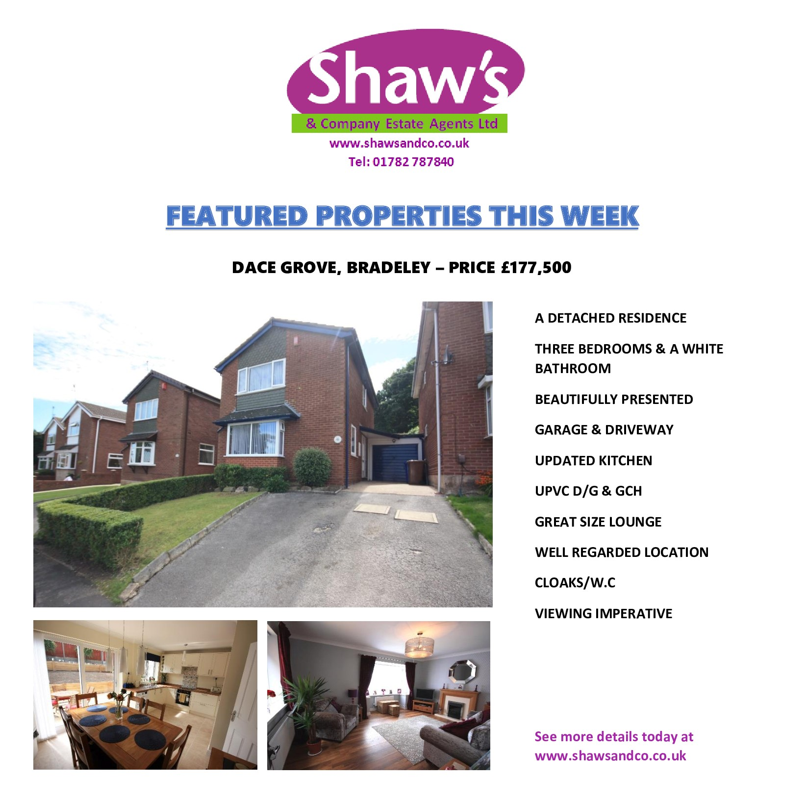 NEW ON THE MARKET THIS WEEK!