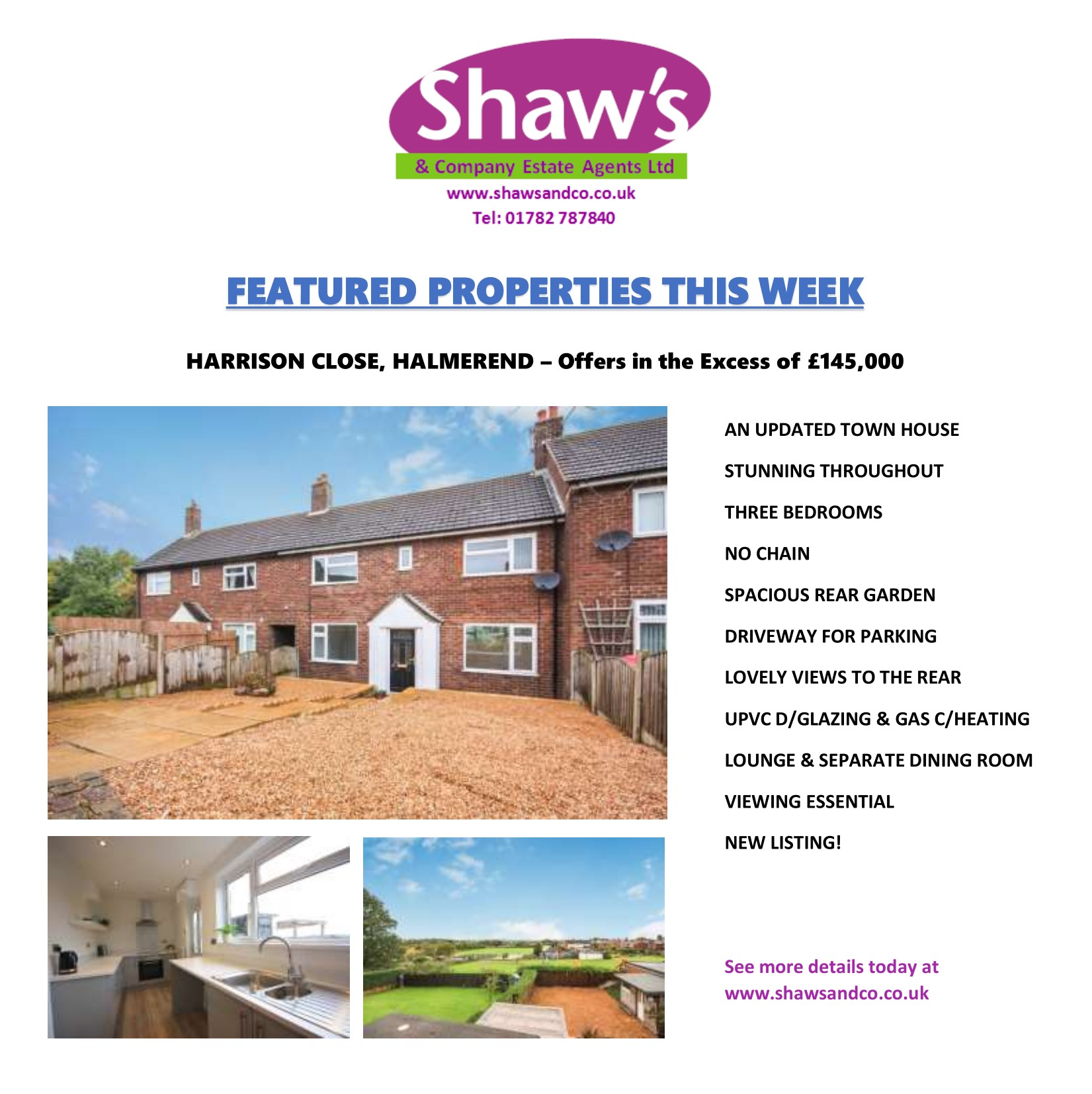 NEW & FEATURED PROPERTIES THIS WEEK!